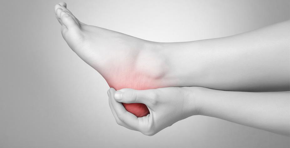 douleur talon au repos